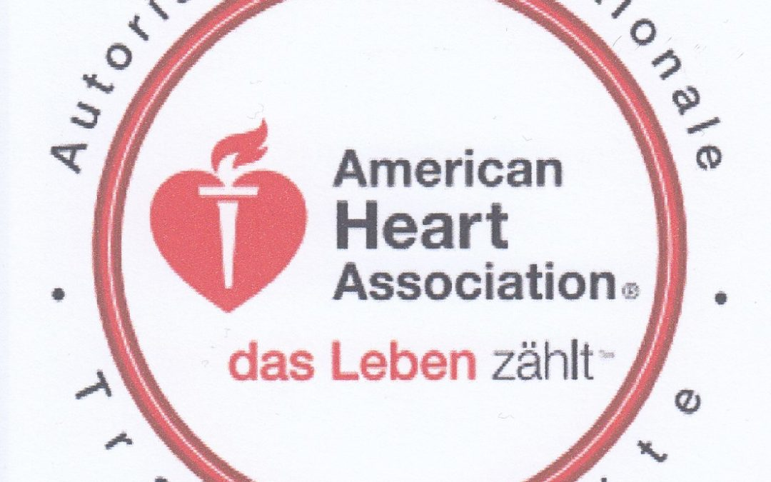 AHA (American Heart Association) Heartsaver Instructor – international anerkannt