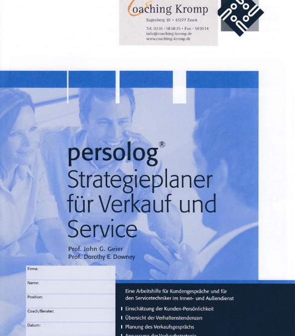 Strategieplaner für Verkauf und Service