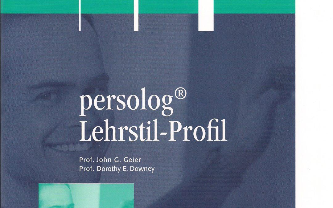 Lehrstil-Profil